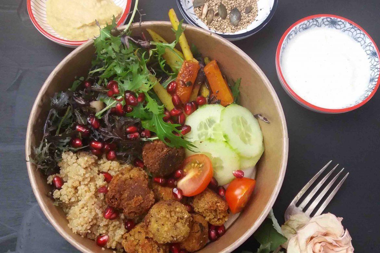 Buddha Bowl: Das perfektes Mittagessen frisch ins Büro geliefert!